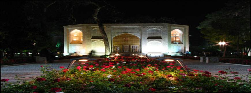 Jahannama garden in shiraz