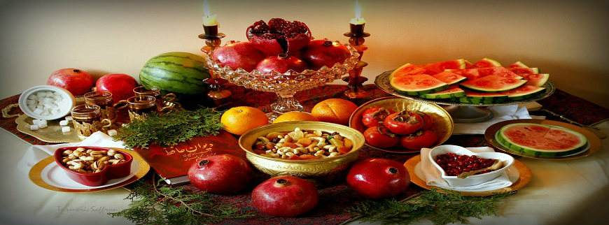 Yalda celebrating night - Iranian Tradition