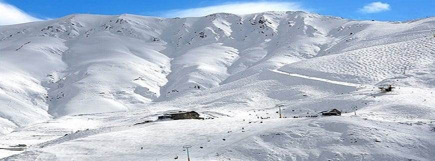 Ski resort in Iran