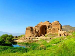 ancient ardeshir palace - firuzabad