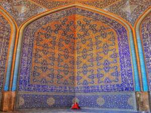 Sheikh lotf ollah mosque isfahan - Persian art and architecture