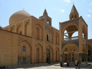 vank cathedral (church) Isfahan