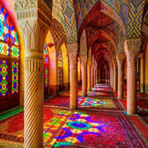 Pink mosque - Attractions of Shiraz
