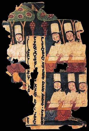 Manichean (an old Iranian religion) Scriptures practiced in China